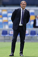 Leonardo Semplici coach of Cagliari Calcio during the warm up prior to the Serie A football match between SSC Napoli and Cagliari Calcio at Diego Armando Maradona stadium in Napoli (Italy), May 02nd, 2021. <br /> Photo Cesare Purini / Insidefoto