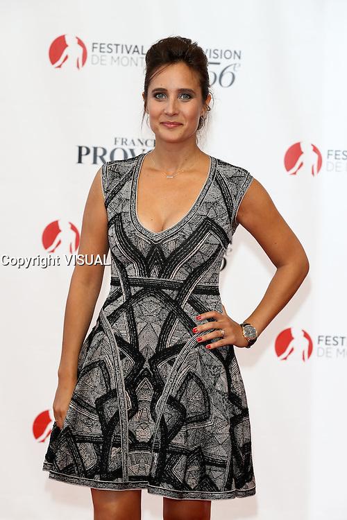 56th Monte-Carlo Television Festival opening red carpet. Julie de Bona.