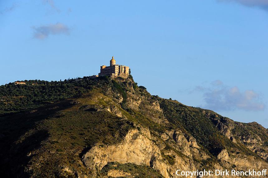 Wallfahrtskirche von Tindari, Sizilien, Italien