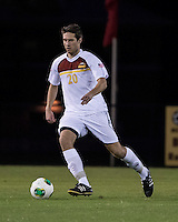 The Winthrop University Eagles lose 2-1 in a Big South contest against the Campbell University Camels.  Jon Simic (20)