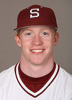 STANFORD, CA - JANUARY 7:  Jack Mosbacher of the Stanford Cardinal baseball team poses for a headshot on January 7, 2009 in Stanford, California.