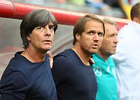 Bundestrainer Joachim Loew (Deutschland Germany) - 02.06.2018: Österreich vs. Deutschland, Wörthersee Stadion in Klagenfurt am Wörthersee, Freundschaftsspiel WM-Vorbereitung