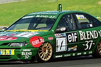 1998 British Touring Car Championship at Brands Hatch. #1 Alain Menu (CHE). Nescafe Blend 37. Renault Laguna.