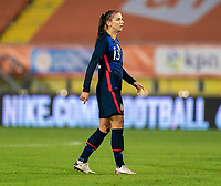 BREDA, NETHERLANDS - NOVEMBER 27: Alex Morgan #13 of the USWNT stands on the field during a game between Netherlands and USWNT at Rat Verlegh Stadion on November 27, 2020 in Breda, Netherlands.