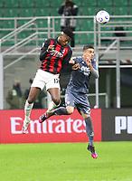 Milano 01-05 2021<br /> Stadio Giuseppe Meazza<br /> Serie A  Tim 2020/21<br /> Milan - Benevento<br /> Nella foto:  Rafael Leo                                    <br /> Antonio Saia Kines Milano