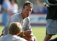 John Hackworth, Nike Friendlies, 2004.