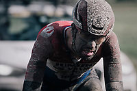 Timo Roosen (NED/Jumbo-Visma)<br /> <br /> 118th Paris-Roubaix 2021 (1.UWT)<br /> One day race from Compiègne to Roubaix (FRA) (257.7km)<br /> <br /> ©kramon