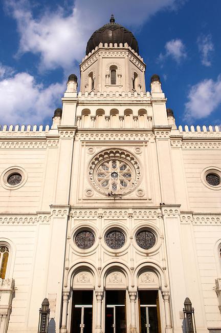 The Moorish design influenced Synagogue, Hungary Kecskemét