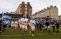 Photo: Richard Lane/Richard Lane Photography. Bath  Rugby v Wasps.  European Rugby Champions Cup. 12/10/2018. Wasps' Will Stuart and Dan Robson.
