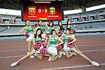 Shanghai SIPG (CHN) vs Jeonbuk Hyundai Motors (KOR) during their AFC Champions League Quarter-final match on Tuesday, 23 August 2016, held at Shanghai stadium in Shanghai, China. Photo by Marcio Machado /Power Sport Images