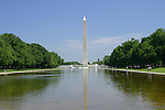 The Washington Monument and reflecting pool, DC
