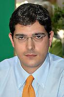Roma 11 09 2004 Dibattito:Procreazione Assistita:chi difende i diritti del concepito?Daniele Capezzone Segretario Partito Radicale                                                                                           photo:Serena Cremaschi Insidefoto