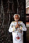 """Doorman Kutan, who is about to turn 90 years old, and has worked at The Galle Face Hotel since 1941. Founded in Colombo, Sri Lanka in 1864, is the oldest hotel east of Suez. It is located off Galle Road, the main highway in the City of Colombo.The hotel borrowed its name from this charming way back of """"Galle Face Green"""" in 1864, built by four British entrepreneurs who were looking to start a business in the city..Mignonne Fernando and The Jetliners regularly entertained guests at the Coconut Grove, the night club attached to the hotel. The venue was even popularised in a song. Radio Ceylon recorded music programmes from the Coconut Grove as well as the Galle Face Hotel itself, presented by some of the legendary Radio Ceylon announcers in the 1950s and 1960s, such as Livy Wijemanne and Vernon Corea. Thousands listened to the broadcasts, particularly 'New Year's Eve' dances from the Galle Face Hotel..D.G. William (known as 'Galle Face William'), the Lanka Sama Samaja Party trade union leader, first worked and organised workers here. The Science fiction author Arthur C. Clarke wrote the final chapters of 3001 - The Final Odyssey in the hotel..It regularly featured on the itineraries of royalty . Princess Alexandra of Denmark commented that 'the peacefulness and generosity encountered at the Galle Face Hotel cannot be matched'. Former guests include the first man in space, Yuri Gagarin, former British Prime minister Edward Heath, the journalist Eric Ellis and Prince Sadruddhin Aga Khan, Rigger Bone Sconi, Lord Louis Mountbatten, 1st Earl Mountbatten of Burma and Marshal Josip Broz Tito."""