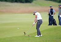 7th July 2021; North Berwick, East Lothian, Scotland;  Danny Willett England on the 4th fairway during the Celebrity Pro-Am at the abrdn Scottish Open at The Renaissance Club, North Berwick, Scotland.