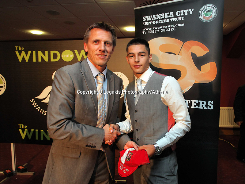 Pictured:  Wednesday 04 May 2011<br /> Re: Swansea City FC supporters Trust annual dinner at the Liberty Stadium, Swansea, south Wales.