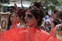 Campinas (SP), 07/03/2020 - Protesto-SP - Mulheres realizaram um ato no centro de Campinas, interior de Sao Paulo, em comemoracao ao Dia Internacional das Mulheres, durante o ato houve protestos contra o governo de Jair Bolsonaro. (Foto: Luciano Claudino/Codigo 19/Codigo 19)