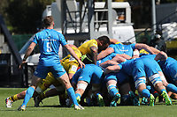 2nd May 2021; Stade Marcel-Deflandre, La Rochelle, France. European Champions Cup Rugby La Rochelle versus  Leinster Semi-Final;  Leinster push back the pack of La Rochelle