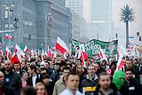 Nationalistische Demonstration in Warschau am 11.11.2014