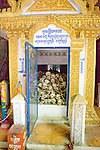 Stupa With Skulls From Pol Pot Regime Killings