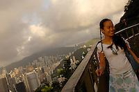 Mainland Chinese tourists at the Peak Gallaria in Hong Kong..02 Jul 2006