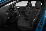 Front seat view of a 2019 Ford Focus ST Base 5 Door Hatchback front seat car photos