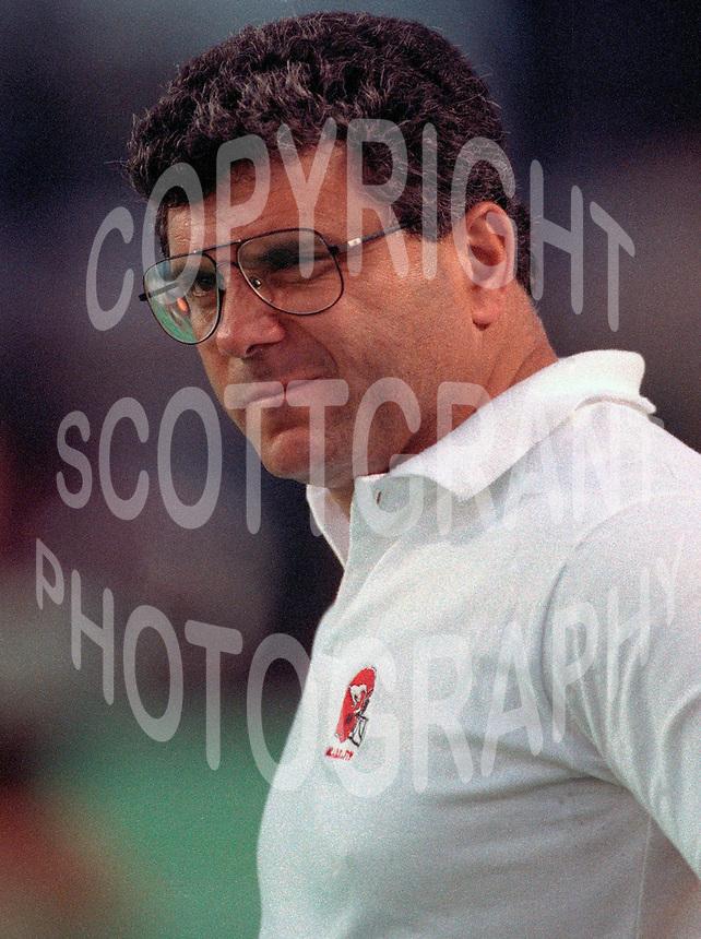 Wally Buono Calgary Stampeders coach 1991. Photo F. Scott Grant