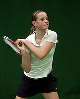 6-12-09, Almere, Tennis, REAAL winterjeugdcircuit,Masters,  Marleen Habes
