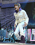 """Justin Bieber performs live at Honda Center during his """"My World Tour""""  in Anaheim, California on October 27,2010                                                                   Copyright 2010  DVS / RockinExposures"""