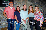 Enjoying the evening in Molly J's on Friday, l to r: Kieran O'Toole, Noreen Rusk, Tina Conway, Aoife McDonald and Shandon Sugrue