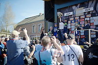 Alejandro Valverde (ESP/Movistar) is now the sole record holder up the Mur de Huy; the only rider to have ever won the Flèche 4 times.<br /> <br /> Flèche Wallonne 2016