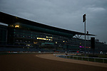 DUBAI,UNITED ARAB EMIRATES-MARCH 24:  Stand at Meydan Racecourse on March 24,2017 in Dubai,United Arab Emirates (Photo by Kaz Ishida/Eclipse Sportswire/Getty Images)