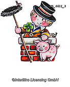 NY, paintings+++++,KL4611/3,#ny#, EVERYDAY ,sticker,stickers, new year's eve ,chimney sweeper