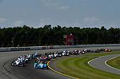 Verizon IndyCar Series<br /> ABC Supply 500<br /> Pocono Raceway, Long Pond, PA USA<br /> Sunday 20 August 2017<br /> Takuma Sato, Andretti Autosport Honda, Simon Pagenaud, Team Penske Chevrolet, Start<br /> World Copyright: Scott R LePage<br /> LAT Images<br /> ref: Digital Image lepage-170820-poc-6735
