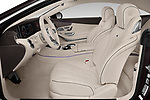 Front seat view of a 2019 Mercedes Benz S-Class S560 2 Door Coupe front seat car photos