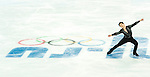 Patrick Chan of Canada competes in the Figure Skating Men Short Program during the 2014 Sochi Olympic Winter Games at Iceberg Skating Palace on February 6, 2014 in Sochi, Russia. Photo by Victor Fraile / Power Sport Images