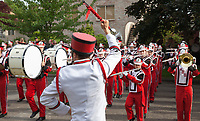 Ballard High School Marching Band, 17th of May Parade 2016, Seattle, WA, USA.