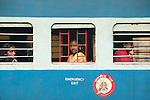 railroad ,car ,with, lady's ,india ,