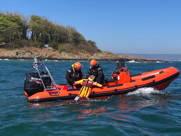 A Safer Waters training exercise