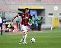 Milano  18-04-2021<br /> Stadio Giuseppe Meazza<br /> Serie A  Tim 2020/21<br /> Milan Genoa<br /> Nella foto:  Mario Mandzukic                                    <br /> Antonio Saia Kines Milano