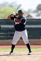 Corey Kemp - Milwaukee Brewers - 2009 spring training.Photo by:  Bill Mitchell/Four Seam Images