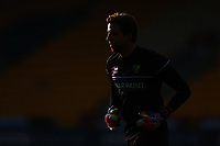 7th November 2020; Carrow Road, Norwich, Norfolk, England, English Football League Championship Football, Norwich versus Swansea City; Goalkeeper Tim Krul of Norwich City silhouette in the bright sunshine during the warm up