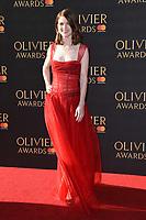 Rose Leslie<br /> arriving for the Olivier Awards 2017 at the Royal Albert Hall, Kensington, London.<br /> <br /> <br /> ©Ash Knotek  D3245  09/04/2017