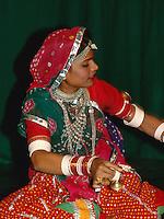 Folklore in Udaipur (Rajasthan), Indien