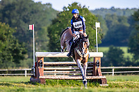 FRA-Sebastien Cavaillon rides Sarah d'Argouges during the Cross Country for the CCIO4*-S. FRA-Le Grand Complet - Haras du Pin FEI Nations Cup Eventing. Le Pin au Haras. Normandie. France. Sunday 15 August 2021. Copyright Photo: Libby Law Photography