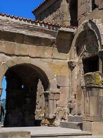 Kloster  Dschwari - Jvari, Mzcheta, Georgien, Europa, UNESCO-Weltkulturerbe<br /> Monastery  Jvari,-Dschwari, Mzcheta, Georgia, Europe, Heritage site