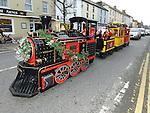 Santa arriving at Gorey Shopping Centre Co. Wexford 21-11-2015. Photo: Colin Bell/pressphotos.ie