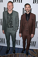 BEVERLY HILLS, CA, USA - MAY 13: Macklemore, Ben Haggerty, Ryan Lewis at the 62nd Annual BMI Pop Awards held at the Regent Beverly Wilshire Hotel on May 13, 2014 in Beverly Hills, California, United States. (Photo by Xavier Collin/Celebrity Monitor)