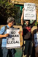 "23.07.2014 - ""Emergency! Stop the Deportation of Isabella Acevedo"""