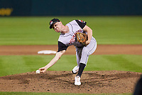 Arkansas Travelers pitcher Jack Anderson (27) during a game against the Springfield Cardinals on June 8, 2021 at Hammons Field in Springfield, Missouri.  (Travis Berg/Four Seam Images)