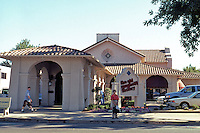 Sacramento CA: The Western Pacific Depot, Willis Polk. (Now an Old Spaghetti Factory.)